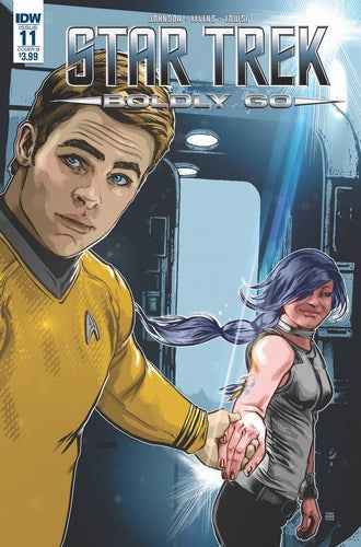 Star Trek Boldly Go (2016) #11 (Cover B Shasteen)