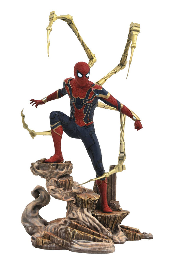 Marvel Gallery Avengers 3 Iron Spider PVC Figure