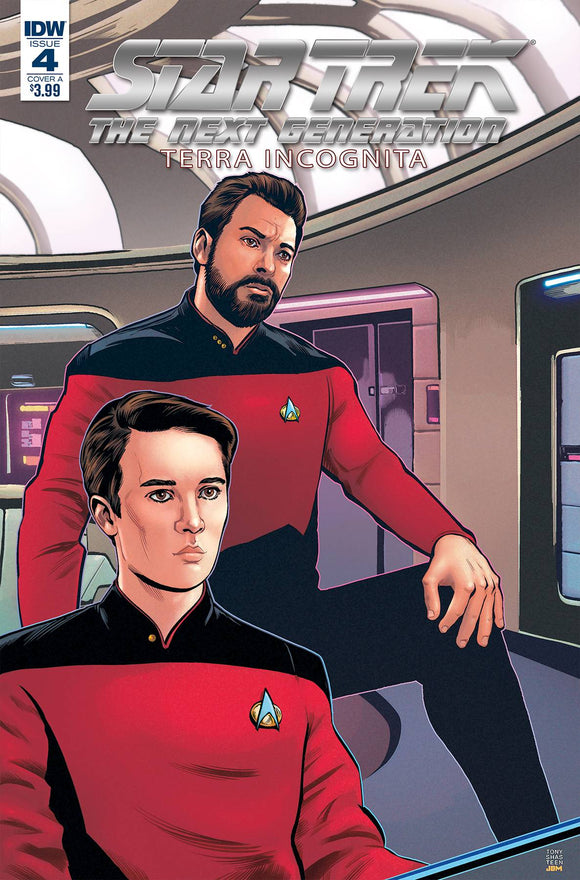 Star Trek The Next Generation Terra Incognita (2018) #4 (CVR A SHASTEEN)