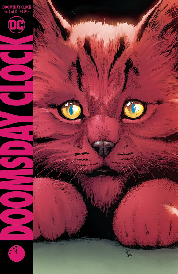 Doomsday Clock (2017) #8