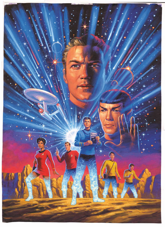 Star Trek Year Five (2019) #1 (HILDEBRANDT)