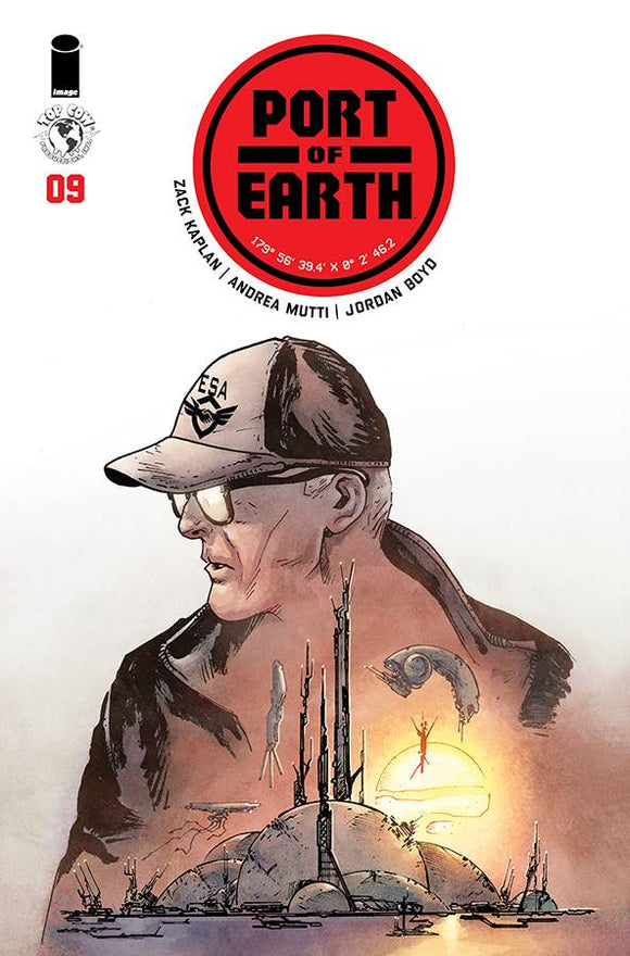 Port of Earth (2017) #9 (CVR A MUTTI)