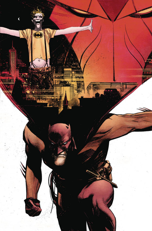 Batman Curse of the White Knight (2019) #1