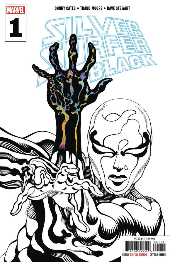 Silver Surfer Black (2019) #1 (3rd Print Moore Variant)