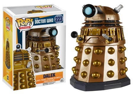 Pop TV Doctor Who Dalek Vinyl Figure