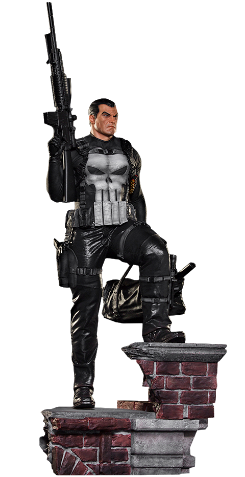 The Punisher Legacy Replica 1:4 Statue (Iron Studios)