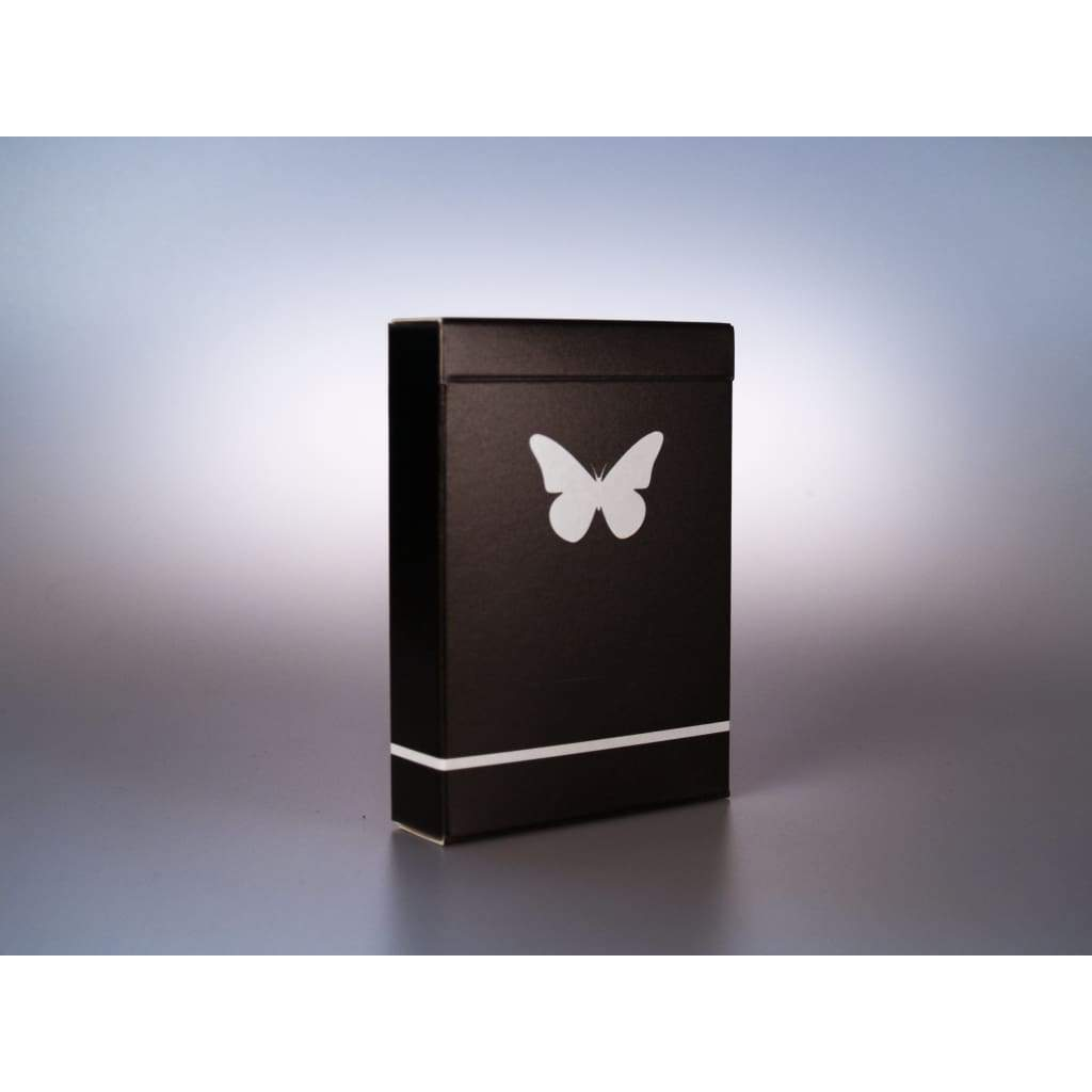 Butterfly Playing Cards Black & White (Prototype) - Playing Cards