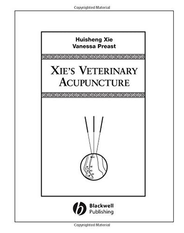 Xie'S Veterinary Acupuncture
