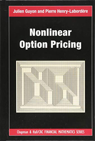 Nonlinear Option Pricing (Chapman And Hall/Crc Financial Mathematics Series)