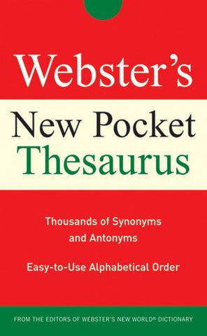 Webster'S New Pocket Thesaurus
