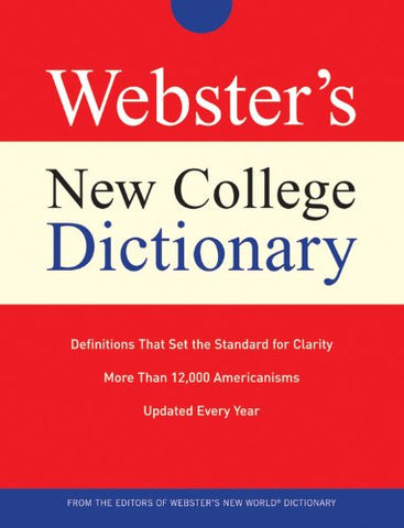 Webster'S New College Dictionary (Custom)