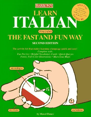 Learn Italian (Italiano) The Fast And Fun Way/With Barron'S Italian-English English-Italian Dictionary