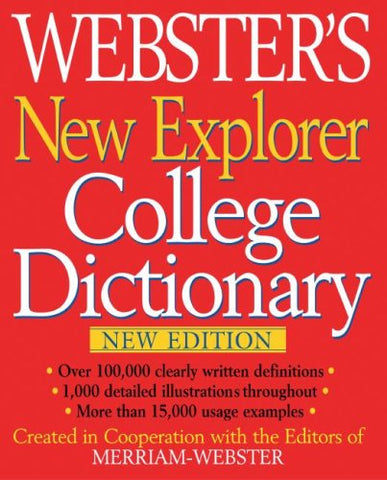 Webster'S New Explorer College Dictionary