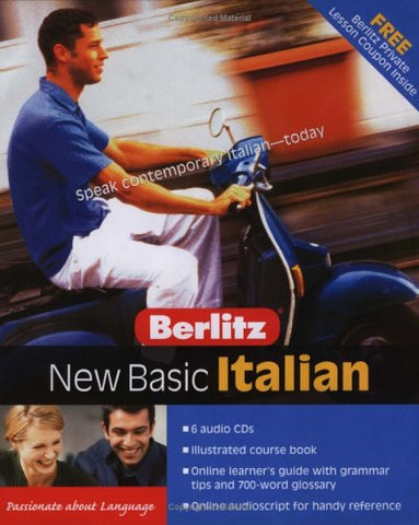 Berlitz New Basic Italian (English And Italian Edition)