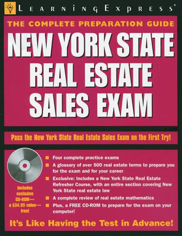 New York State Real Estate Sales Exam
