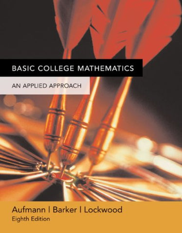 Student Solutions Manual: Basic College Mathematics