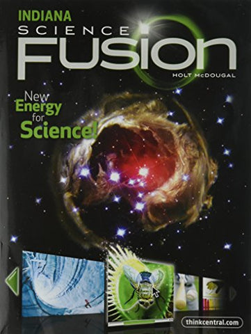 Holt Mcdougal Science Fusion: Student Edition Interactive Worktext Grade 8 2012