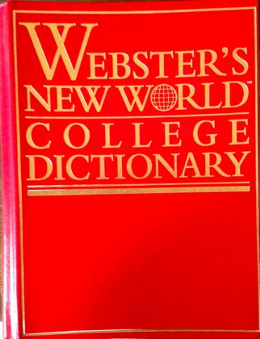 Webster'S New World College Dictionary/Leathercraft Thumb Indexed