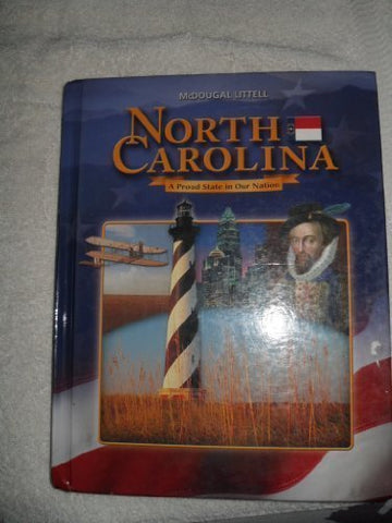 Mcdougal Littell North Carolina History North Carolina: Student Edition Grades 6-8 2003