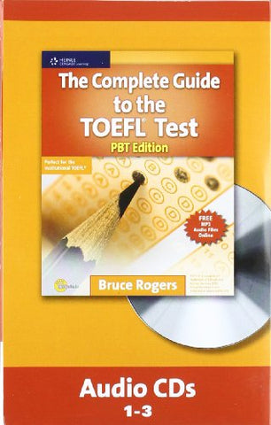 The Complete Guide To The Toefl Test, Pbt: Audio Cd