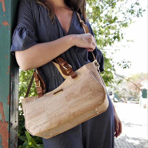 Natural Cork Woman Handbag - Shop now at StudioCork