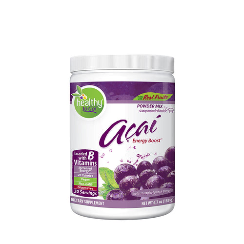 Acai Energy Boost 30 Serving Canister