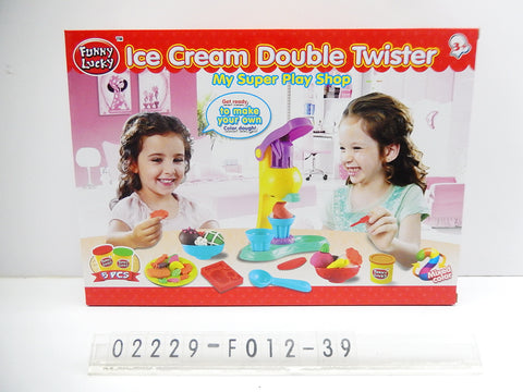 Play Dough Ice Cream Maker F012 39 - Evergreen Toys