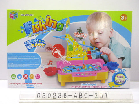 Fishing Game Abc 201 - Evergreen Toys