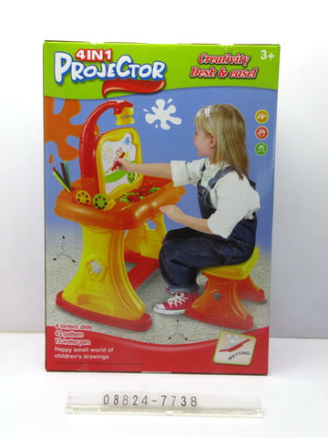 4 in 1 Projector Desk Large 7738 - Evergreen Toys