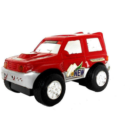 Model Jeep Plastic - Evergreen Toys