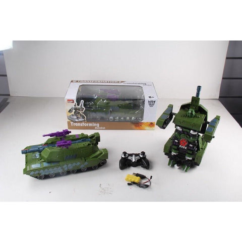 RC Transformer Tank 2327 - Evergreen Toys