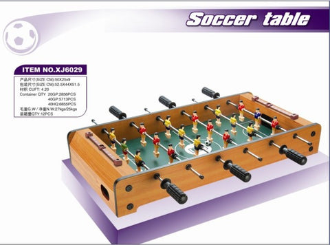 XJ 6029 Soccer Game - Evergreen Toys
