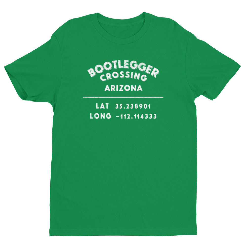 """Bootlegger Crossing, Arizona""- Mens' Short Sleeve T-shirt"