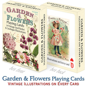 Garden & Flowers Playing Cards