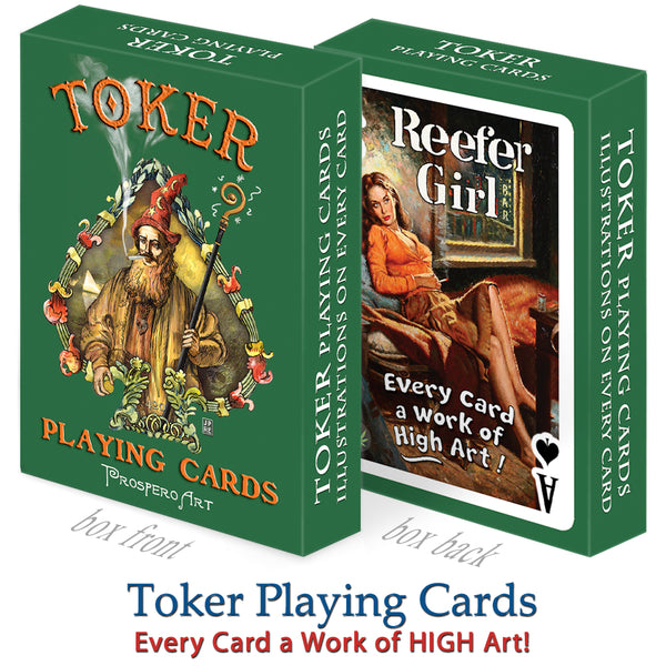 Toker Playing Cards