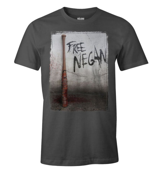 T-shirt The Walking Dead - Free Negan - MOVIESTORE