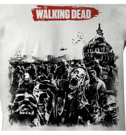 T-shirt The Walking Dead - Zombie Herd - MOVIESTORE