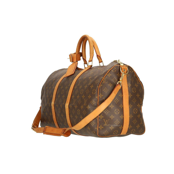 Louis Vuitton Monogram Keepall Bandouliere 50 Travel Bag