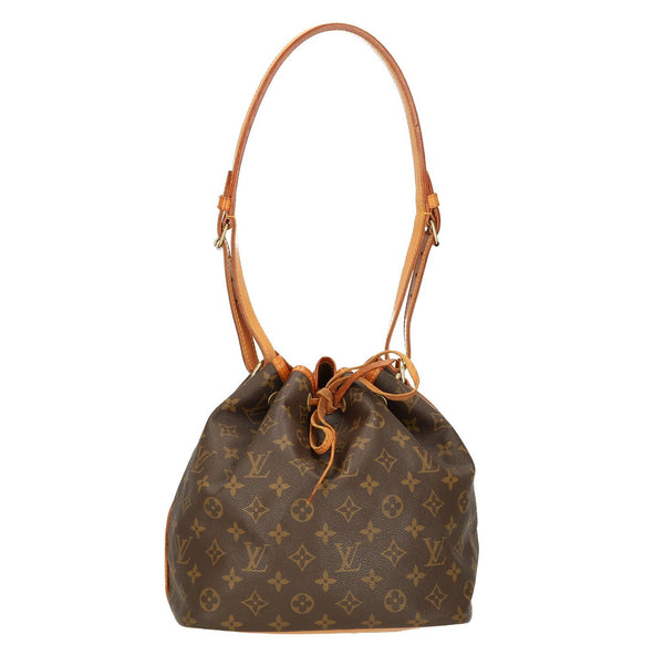 Louis Vuitton Monogram Petit Noe Shoulder Bag