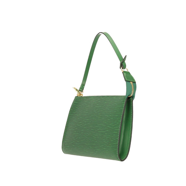 Louis Vuitton Green Epi Leather Pochette Accessoires