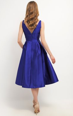 ADRIANNA PAPELL - Neptune Cocktail Dress - Designer Dress hire