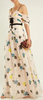 Self Portrait - Floral Chiffon Maxi Dress - Designer Dress hire