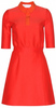 DIANE VON FURSTENBERG - Zarita Lace Dress Red - Designer Dress hire