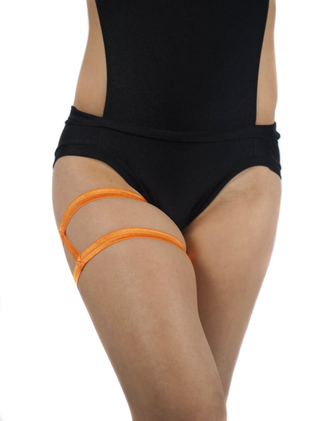 Thighsies Double Strap Satin