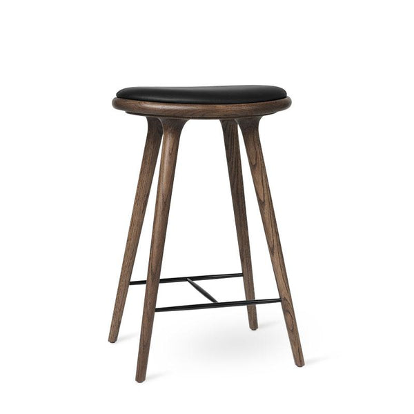 High Stool | Dark stained oak | 69 cm