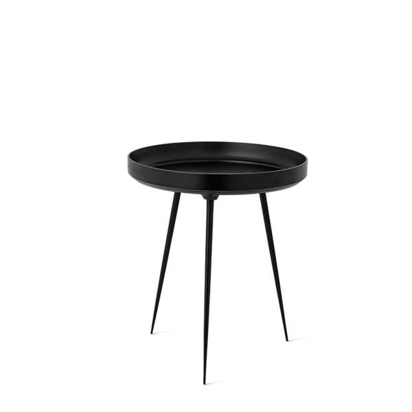 Alu Bowl Table | Black