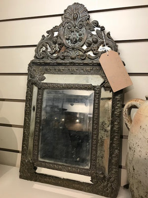 19th century beautifully Foxed Mirror