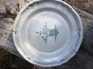 18th Century French Quimper Plate (small)