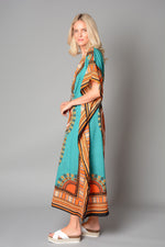 Ladies Sea Green Kaftan (Pack of 12) £3.00 Per Garment