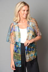 Ladies Fringe Bottom Kimono (Pack of 15) £3.00 Per Garment